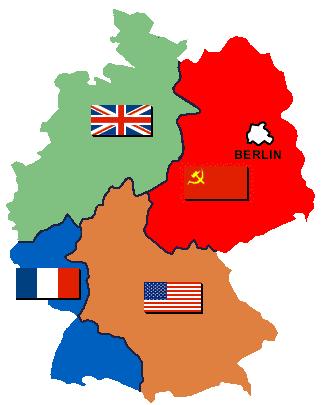 Besatzungszonen ohne text